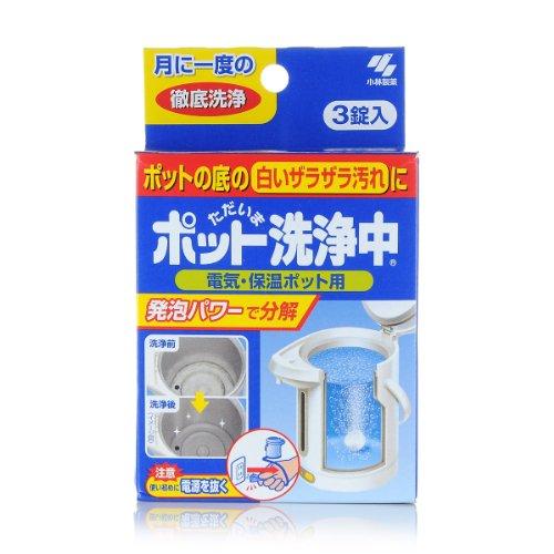 KOBAYASHI 小林日化 热水瓶洗净片 3片装