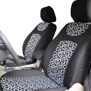 溢派 长城酷熊专车专用豹纹款时尚商务汽车座套 高档性珍高清图片