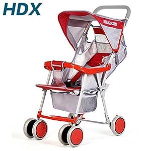 皇帝星儿童四轮推车 轻便折叠婴儿推车 宝宝小推车便携婴车 童车