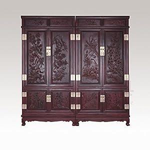 红木家具 储存柜 小叶紫檀顶箱柜衣柜 镶象牙顶箱柜 印度小叶紫檀柜子