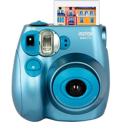 FUJIFILM 富士 mini7s 一次成像相机拍立得 金属蓝 349元(券后309元包邮)