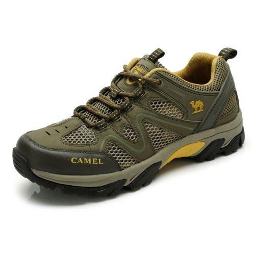 Camel 骆驼 户外鞋 男式透气户外鞋 休闲登山鞋 2013春季新款82303601