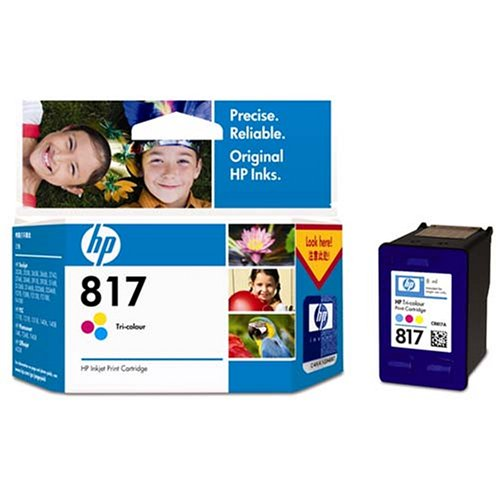 惠普(HP)C8817AA 817号彩色墨盒(适用Deskjet F2238 F2288 D1568 4308)
