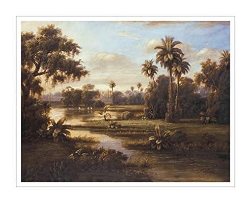 风景图片 树木画