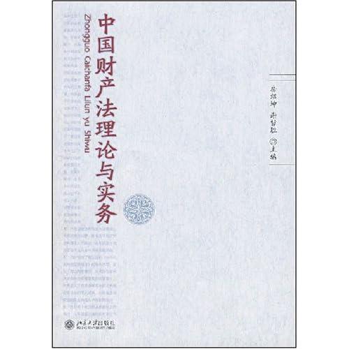 中国财产法理论与实务