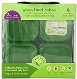 Green Sprouts 玻璃食物存储盒60ml 4个装绿色(进口)