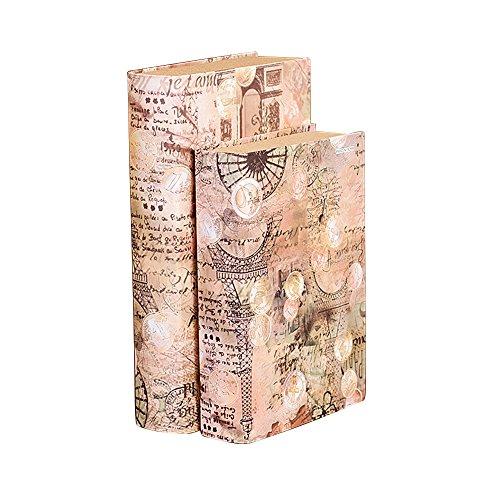 saree 莎芮 欧式复古巴洛克风情仿真书 书房办公室样板间道具装饰书摆