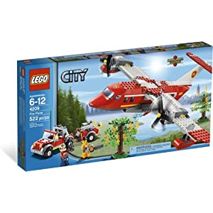 lego 乐高 4209 城市系列 森林消防飞机new