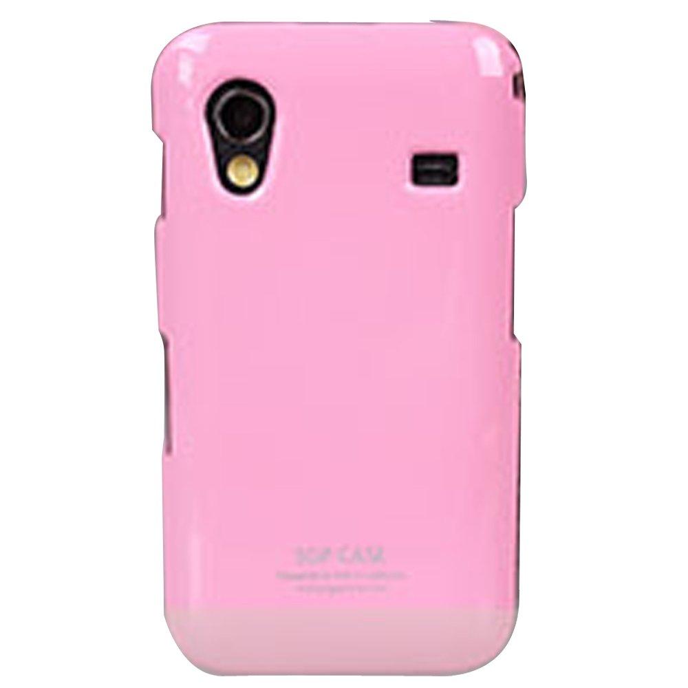 三星 s5830 i579 s5838 手机套 保护壳 可贴钻 钢琴烤漆壳(粉红色)