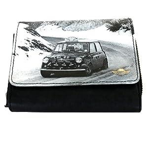 原厂 迷你mini 汽车精品 shout钱夹 实用型 钱包 皮包 黑白高清图片