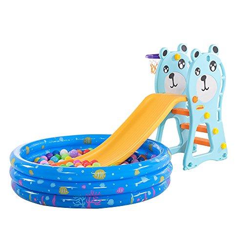 多功能 家用滑滑梯 儿童室内婴儿玩具 宝宝摇摇椅玩具 (多功能二合一