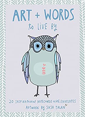 Art + Words to Live by Note Cards: Illustrations + Hand-Lettering by Susa Talan.pdf