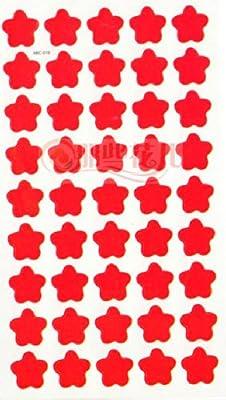 奖励贴纸幼儿园粘贴批发教师小学生小红花星星027
