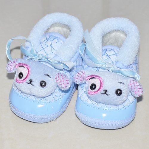 舒适宝宝学步鞋 冬季可爱婴儿鞋子 软底防滑鞋 可爱小
