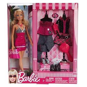 Barbie芭比娃娃 芭比时装礼盒 N8820-1