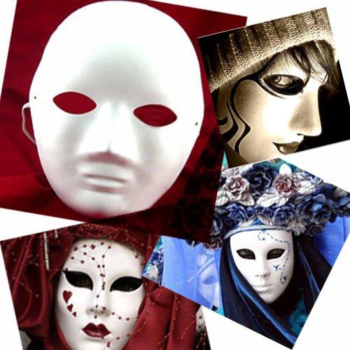 设计化装舞会的面具很简单--面具遮住人脸的上半部分有时连着一个