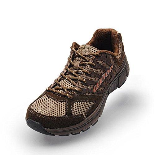 GERTOP 德意志山峰 户外鞋 夏季超轻透气网面徒步鞋 男越野跑鞋