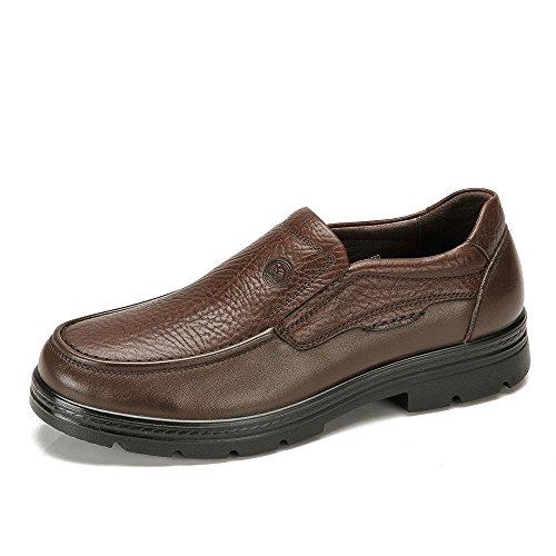 骆驼牌 新品秋冬男鞋 真皮日常休闲轻质男士低帮鞋正品W432211030