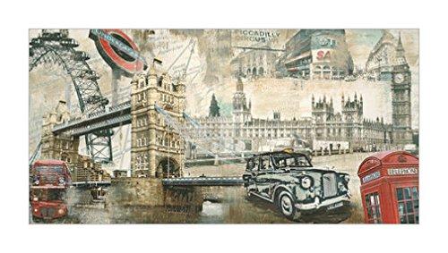 风景 拼贴装饰画 世界建筑 装饰艺术环境 伦敦 英格兰 英国 装饰画