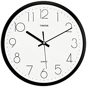 TIMESS S9651B 12英寸 客厅挂钟