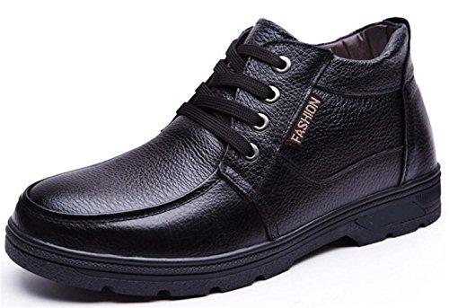 Guciheaven 英伦男士皮鞋 时尚商务休闲皮鞋 正装皮鞋 时装靴 保暖雪地靴 商务高帮男鞋JRSGH6006