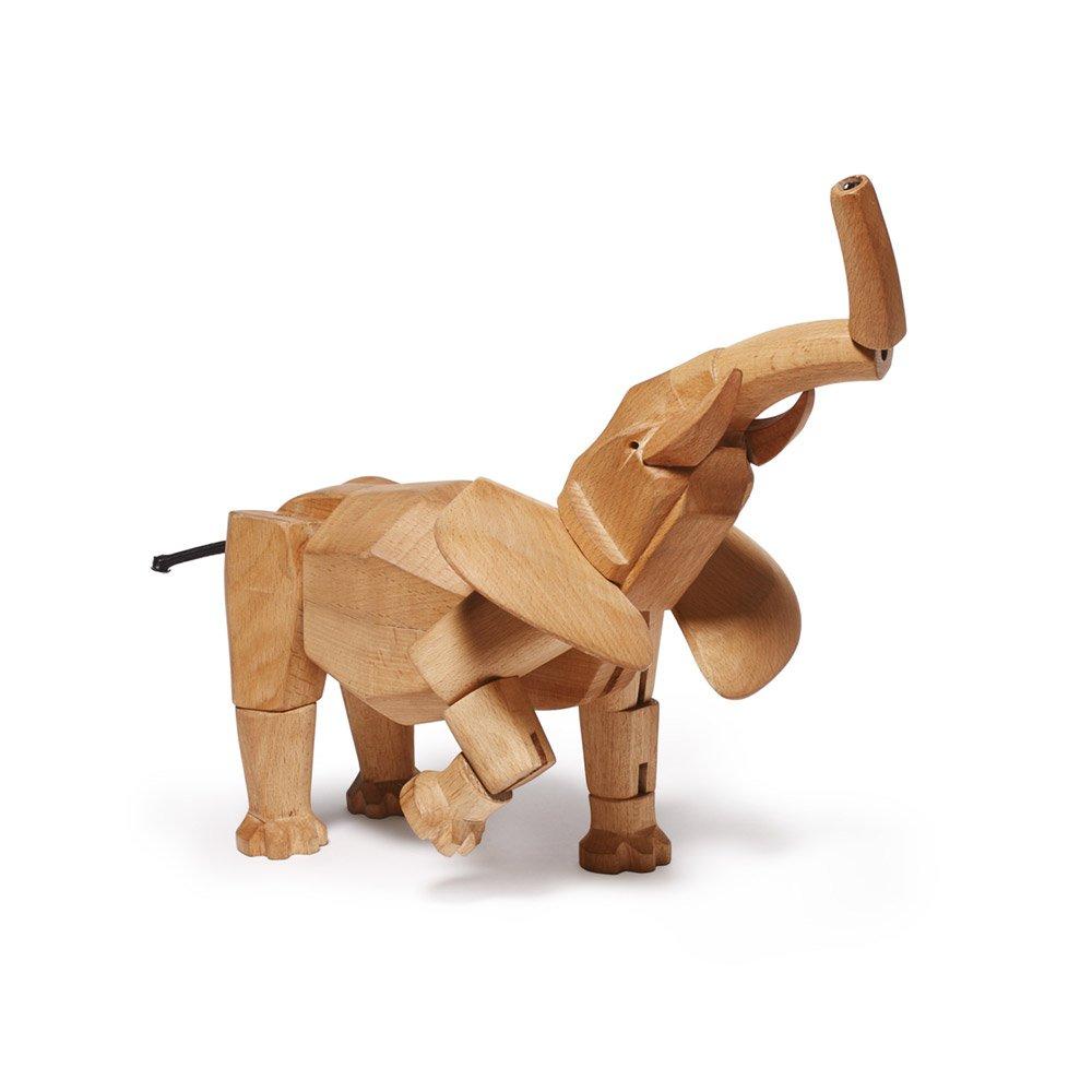 areaware 创意摆件 工艺品 diy动物木质模型 变形金刚