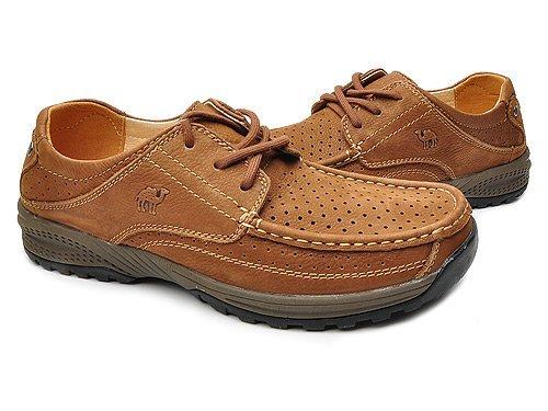 Camel 骆驼 舒适耐磨简洁单色户外高档休闲鞋 男 男户外鞋 D11357 咖啡 brown