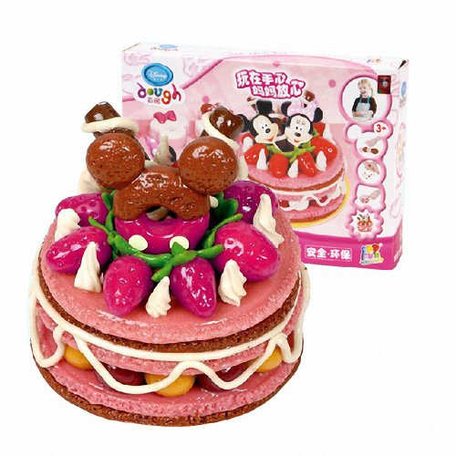 disney 迪士尼 儿童玩具手工彩泥可爱小蛋糕彩泥 儿童