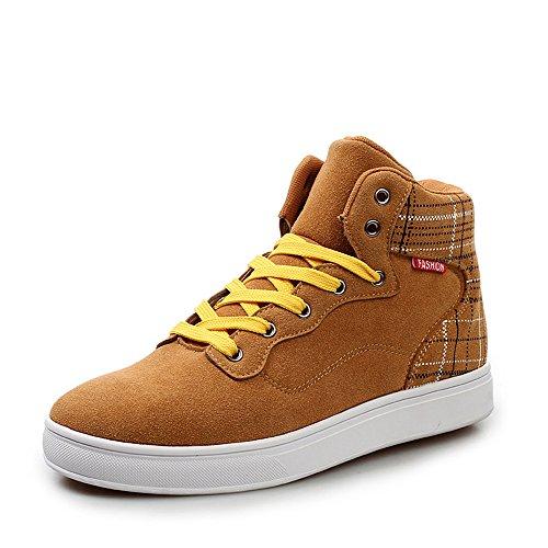 韩版潮流中邦板鞋子男生休闲鞋英伦风流行男鞋子磨砂皮滑板鞋潮鞋