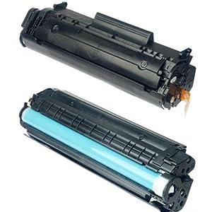 CTC 西通 國産硒鼓 12A硒鼓 Q2612A 易加粉 國産 惠普 硒鼓 (適用于 HP Laser Jet 1010 1012 1015 1018 1020 1022 1022N 1022NW M1005 M1005MFP M1319F M1319MFP Canon LBP-2900 3000 激光打印機)