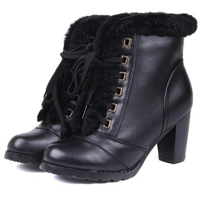靴短靴女士时装靴雪地靴皮鞋棉鞋子