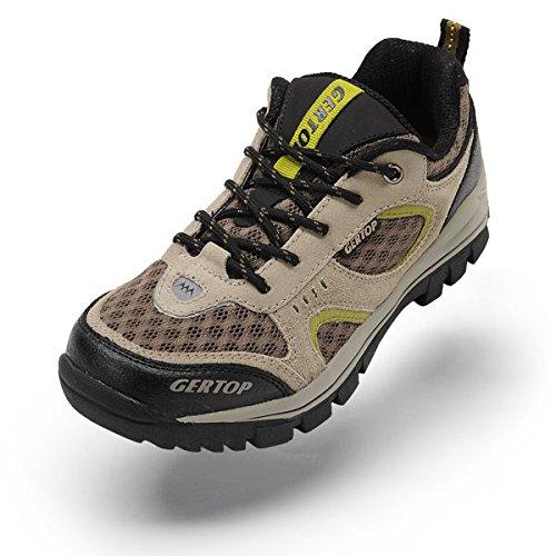 GERTOP 德意志山峰 夏季透气网面徒步鞋 男防滑户外登山鞋