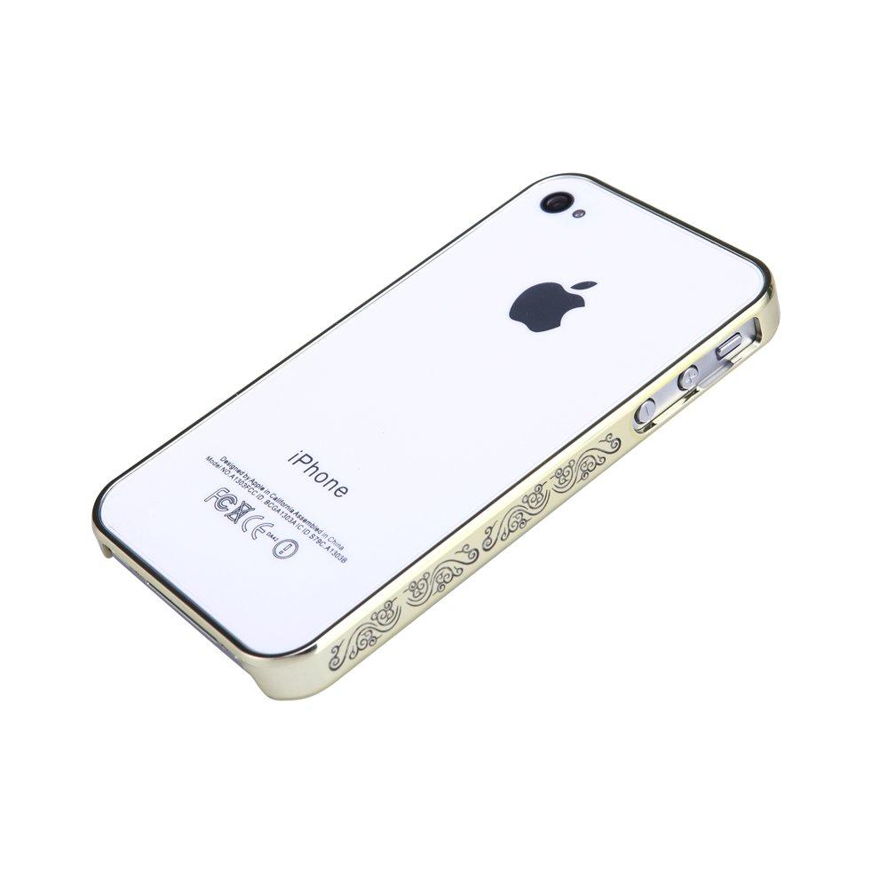 4s边框手机保护壳 凡力仕 vanlux 小祥云 超薄 电镀sony专色 苹果4s