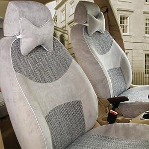 缪斯 新款专用亚麻汽车座套四季通用坐套 订做别克凯越朗逸crvk2 舒适