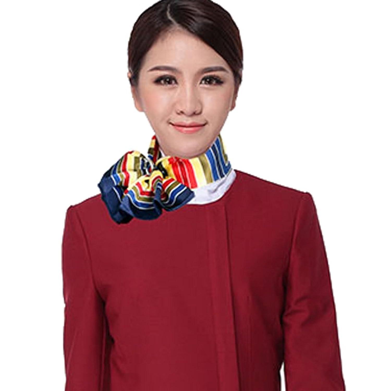 amorjolie 南航 东航 国航 海航 大韩航空空姐丝巾 航空公司丝巾 丝巾图片