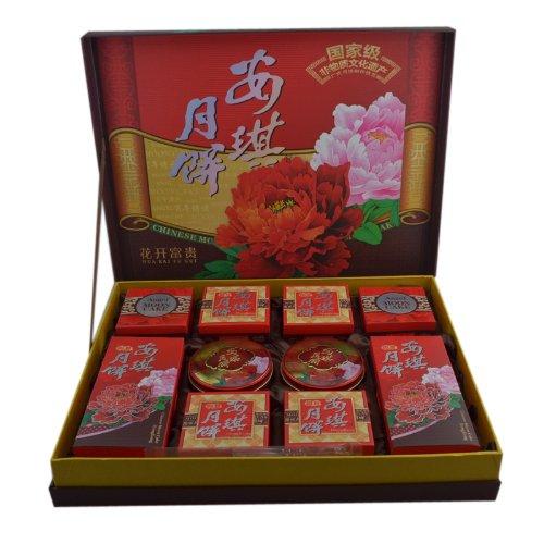 安琪花开富贵月饼705g 中国十大名饼