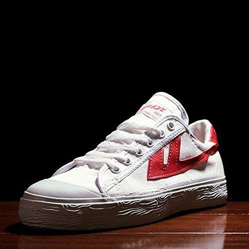 Warrior 回力 经典复古国货鞋情侣运动鞋经典款男女篮球鞋低帮帆布鞋