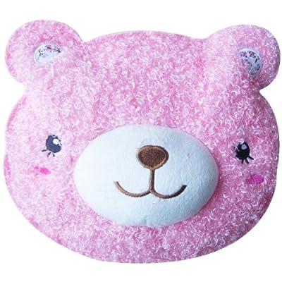 探春电暖袋粉色超可爱泰迪小熊