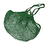 Better Houseware Cotton Net Shopping Bag, Green