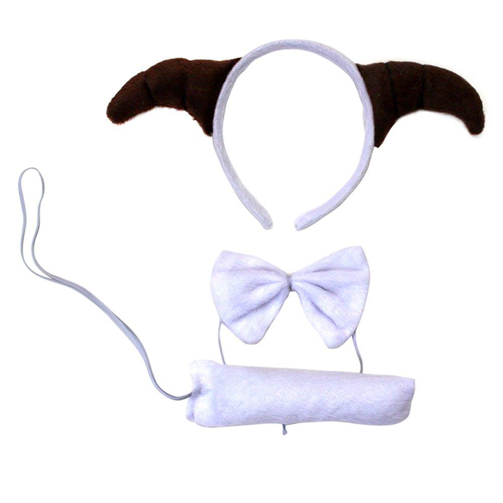欢乐派对 年会道具年会用品动物三件套头饰道具山羊绵羊头饰发卡