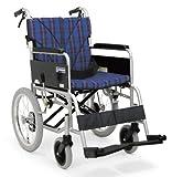 日本河村 BM系列航太合金7003高度可调节轮椅 (后轮16英寸 座宽40 座高43, 方格兰)-图片