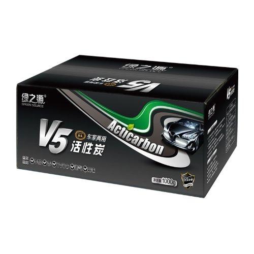 绿之源 V5精英系列 车家两用活性炭1000g 高效汽车除味剂-图片