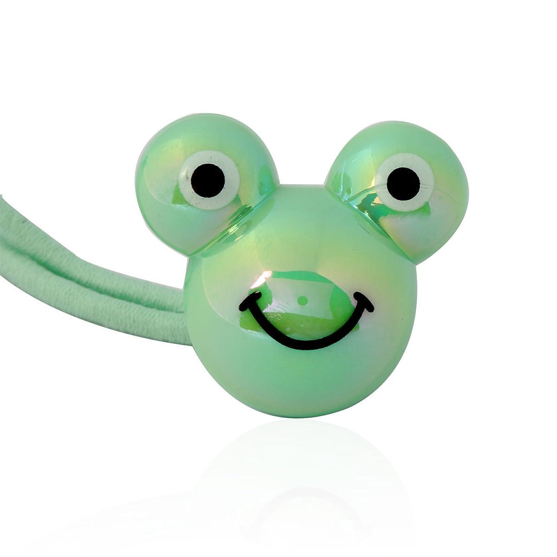 韩国yiboyo饰品 韩国进口 可爱大嘴蛙造型儿童头绳 发