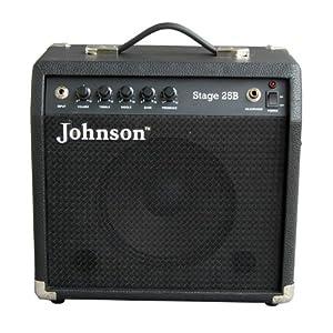 johnson 詹森 stage 25b 20w 电贝司音箱