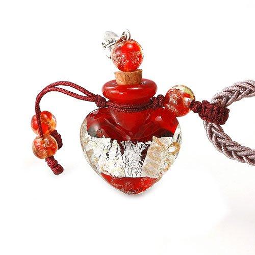 王廷珠宝 心形琉璃百宝瓶项链-钟爱一生 兔年化解太岁-图片