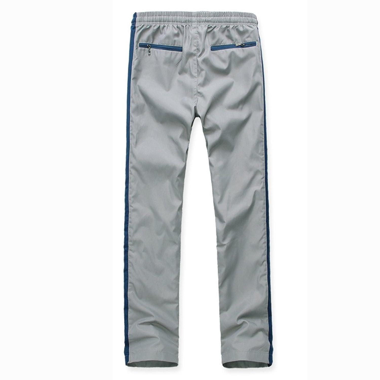 丹杰仕 侧边条 口袋拉链设计 时尚男运动休闲裤运动裤