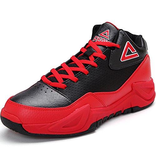 匹克篮球鞋男秋冬运动鞋男耐磨缓震气垫猛兽高帮篮球战靴 DA520511