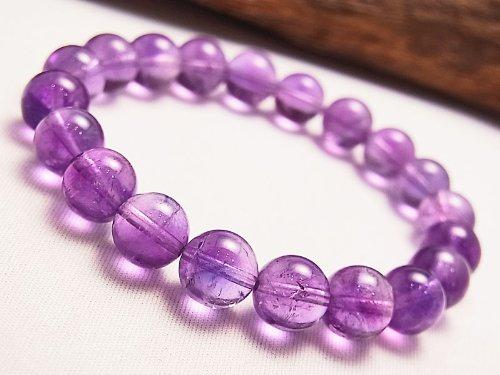 BINGKO冰珂 天然紫水晶手链时尚 增强人际 定情石 8m---贵族名媛手链 级别A-图片