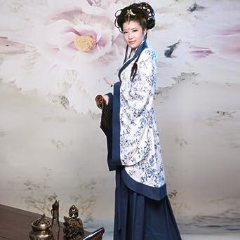 裙汉服女装宫女唐朝贵妃装公主舞台演出服七仙女图片