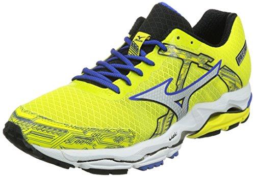 Mizuno 美津浓 男  WAVE ENIGMA 4 跑步鞋 J1GR1402